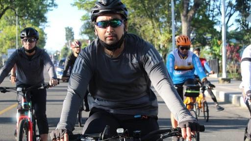 Melalui Olahraga, Wagub Jaga Sinergisitas dengan TNI/Polri
