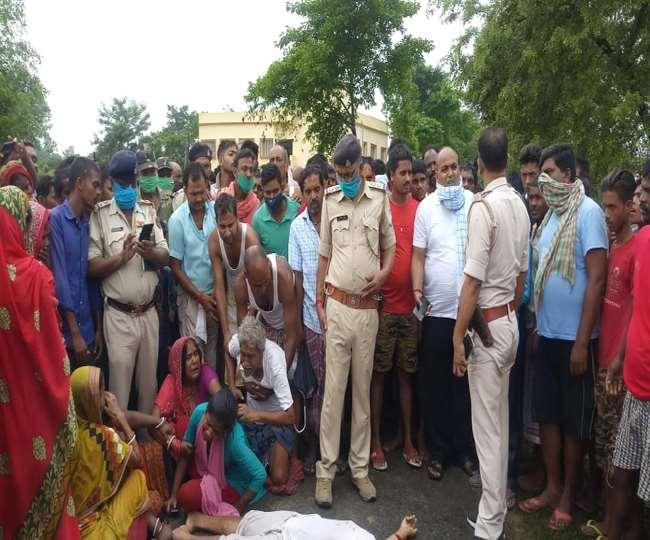 BIHAR/वैशाली में घर बुलाकर युवक की गोली मार हत्या, हाजीपुर-समस्तीपुर NH किया जाम