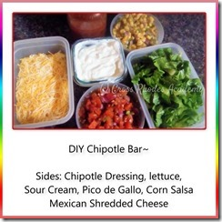DIY Chipotle Meal 3