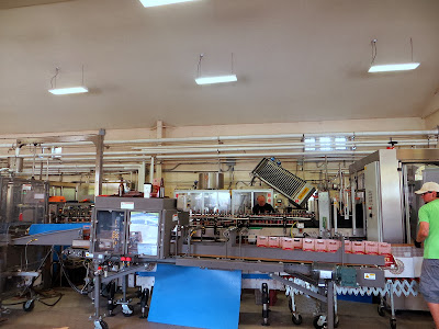 Ommegang Brewery bottling line
