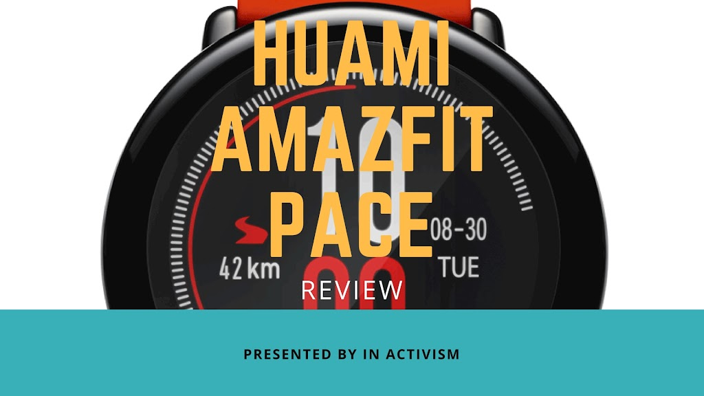 Huami AMAZFIT PACE スマートウォッチ レビュー・感想・評価|ユニセックスで使えるグッドデザイン