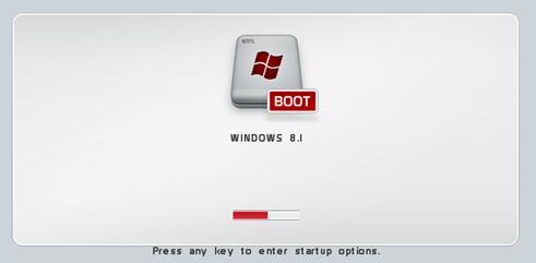 OS Default Anda menjadi Windows