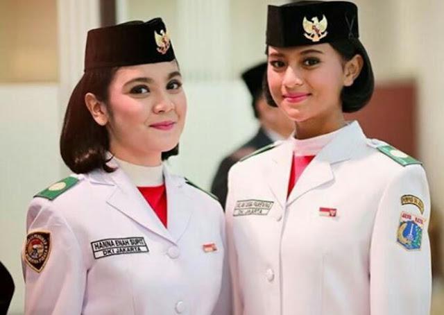 Nilam Sukma Pawening Paskibraka 2016 Sang Pembawa Baki Asal Jakarta