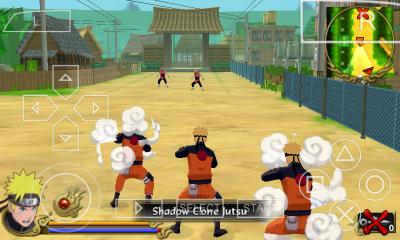 Download Naruto Shippuden: Legends: Akatsuki Rising PPSSPP/ISO