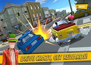 لعبة كريزي تاكسي للموبايل