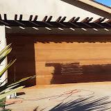 Wood Garage Door Stripping Del Mar