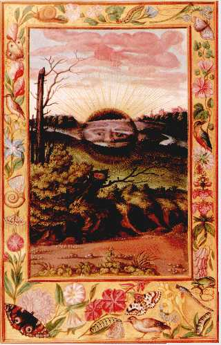 The Dark Sun From Splendor Solis, Hermetic Emblems From Manuscripts 1