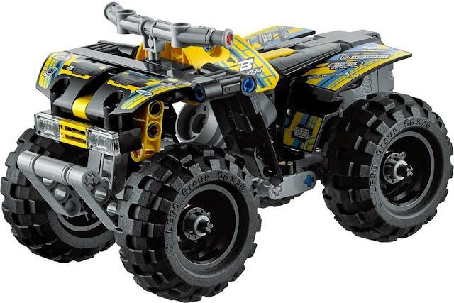 Hình ảnh Xe đua địa hình Lego Technic 42034 Quad Bike