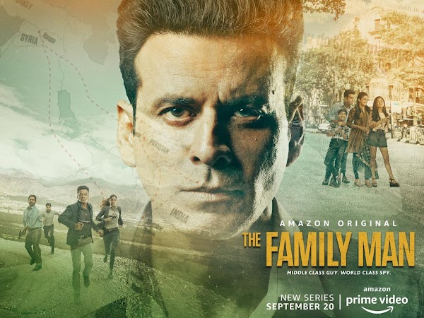 Poster Of The Family Man Season 01 2019 Watch Online Free Download