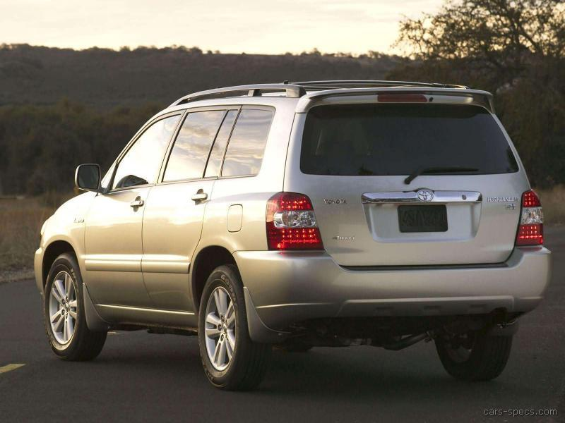 2007 toyota highlander suv specifications pictures prices. Black Bedroom Furniture Sets. Home Design Ideas