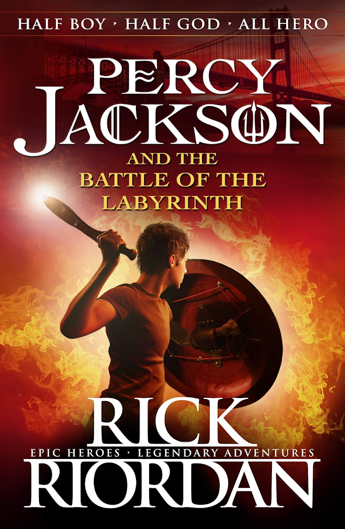 Book Review – Percy Jackson and The Battle of the Labyrinth