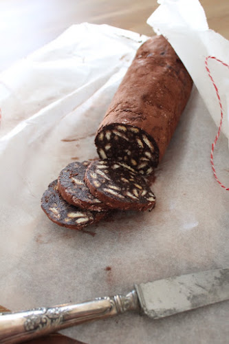 Not 2 late to craft: Botifarra de xocolata / Chocolate salami