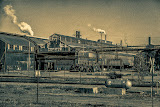 """East Chicago Factory"" by Roy Kropp - 1st Place Print"