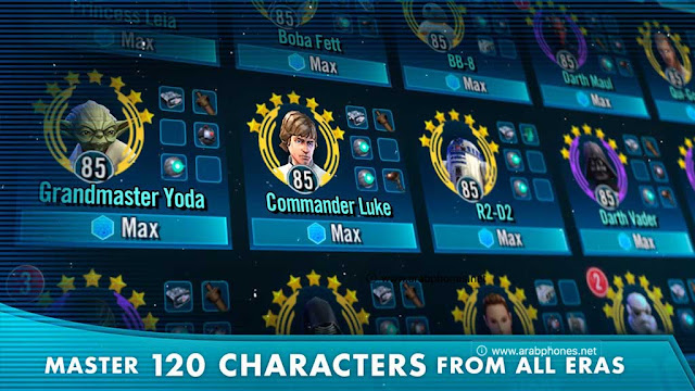 لعبة Star Wars Rivals مهكرة آخر اصدار