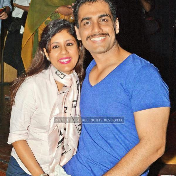 Shweta and Rahul during the Lucknow Theatre Festival which was organised in the city from July 17.