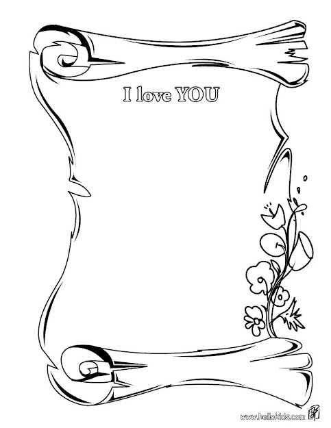 Love You Coloring Pages For Boyfriend  Hair