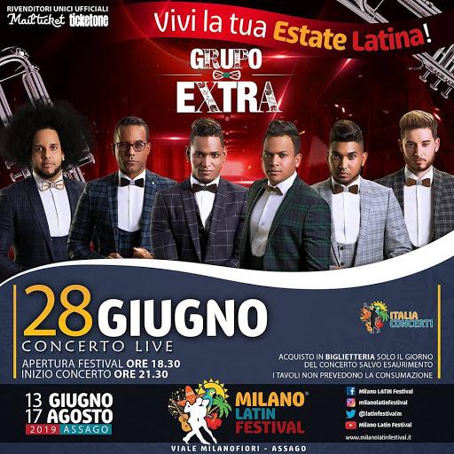 Grupo Extra Al Milano Latin Festival 28 Giugno 2019