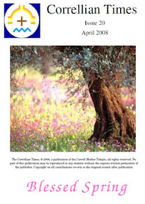 Cover of Correllian Times Emagazine's Book Issue 20 April 2008 Blessed Spring