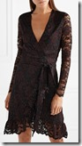 James Perse Lace Wrap Short Dress