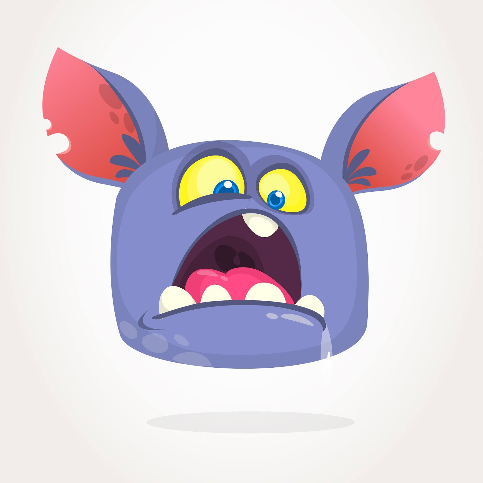 Cartoon Monster Free Download Vector CDR, AI, EPS and PNG Formats