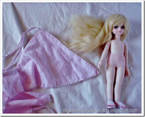 Pretty and Pink: From Dress to Cute Skirt and More: Doll clothes too.