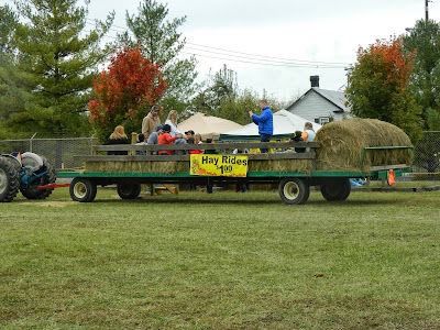 Hayrides are only $1!
