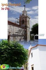 Pintura Igreja Ota - 23.06.17