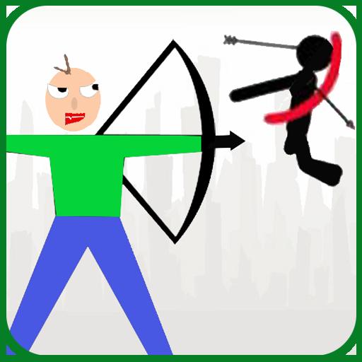 Baldi Archer vs Stickman