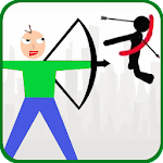 Baldi Archer vs Stickman