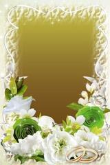 floral photo frames 3