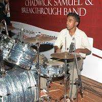 l.Drummer in action