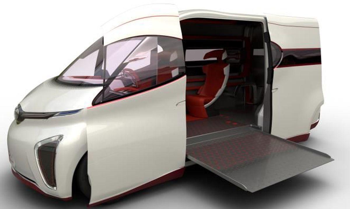 LCV Athletic Tourer Concept