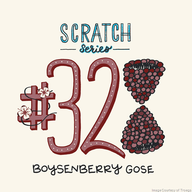 Troegs Adding Scratch 328 Boysenberry Gose