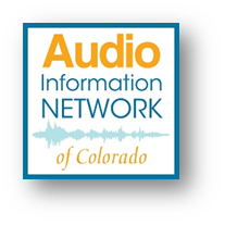 Logo for the Audio Information Network of Colorado