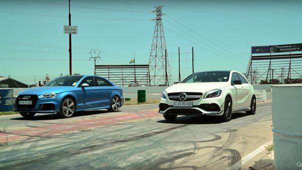 A45-RS3 drifting