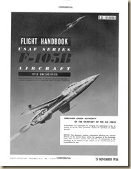 Republic F-105B Thunderchief Flight Manual (Early)_01