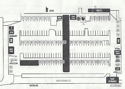 Map of Eat Mobile 2012 layout