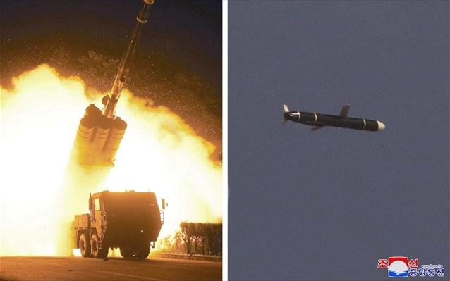 Πεντάγωνο: «Απειλή» για τους γείτονες η εκτόξευση πυραύλων που πραγματοποίησε η Β. Κορέα