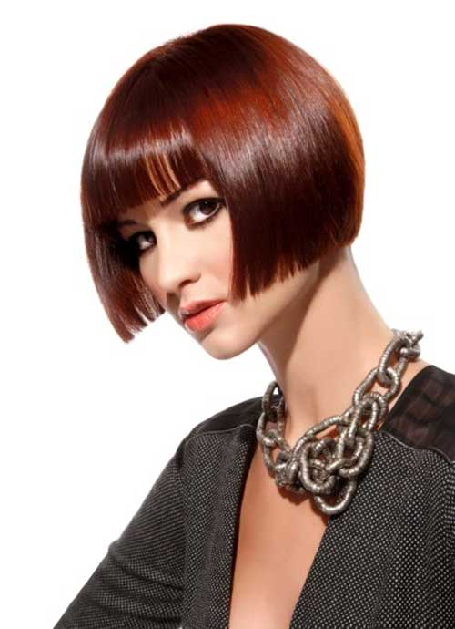 Sensational Modern Red Graduated Bob Hairstyle For Women Fashion Qe Hairstyles For Women Draintrainus