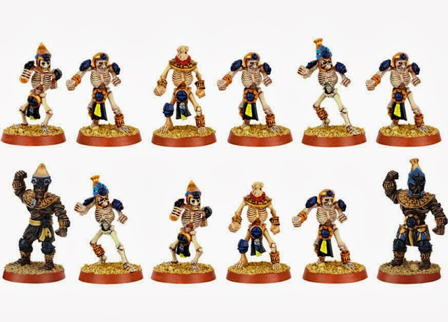 Equipo Khemri de Blood Bowl Games Workshop