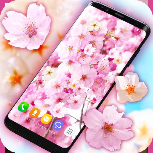 Sakura Cherry Blossoms Live Wallpaper Apps On Google Play
