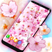 Sakura (Cherry Blossoms) Live Wallpaper