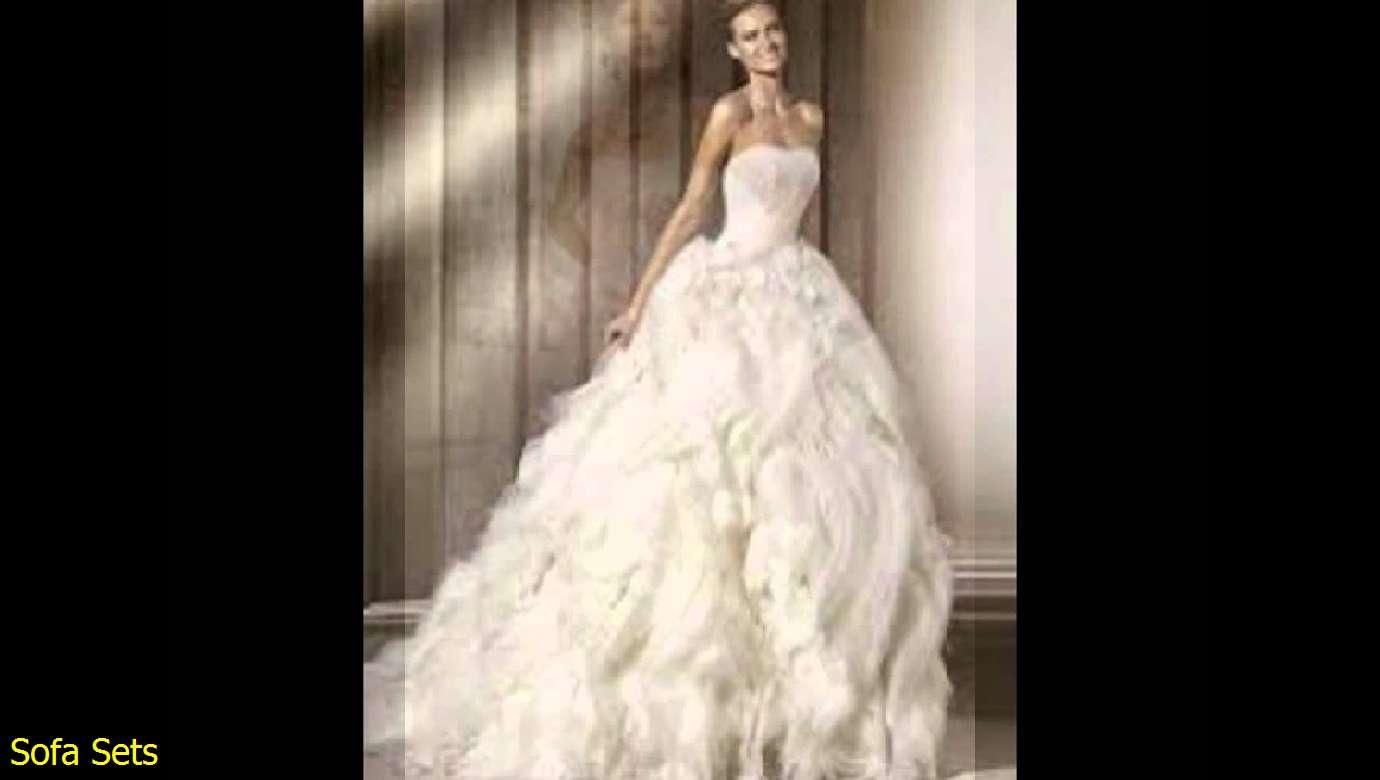 4b0deabae اجمل فساتين زفاف تركية 2014 - فساتين زفاف
