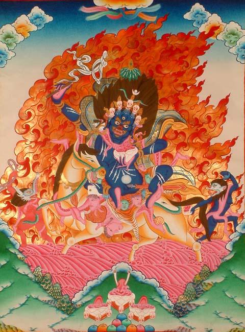 Palden Lhamo, Gods And Goddesses 2