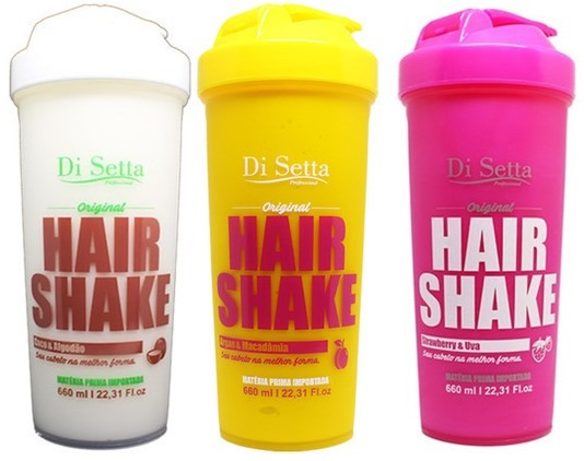 shake pra cabelo