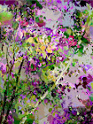 """The """"Lilac Bush"""" piece from the """"2003"""" collection"""