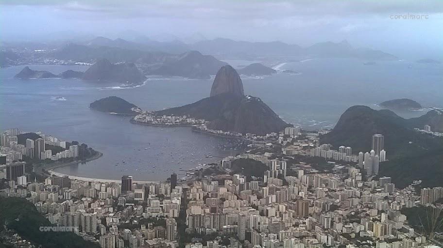 Rio de Janeiro from Corcovado