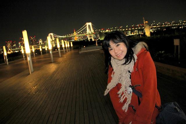 東京 日本 台場 東京鐵塔 彩虹大橋