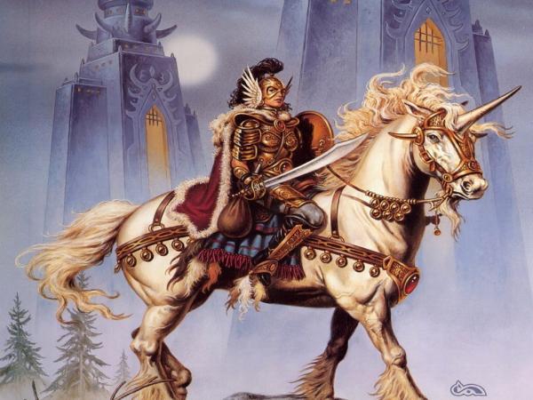 Knight On The Horse, Spirit Companion 1