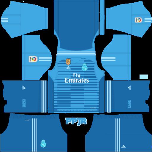 new arrival 1117c d9161 Real Madrid New Kits 2018-19 Mod Laliga (DLS 18 & FTS 15 ...